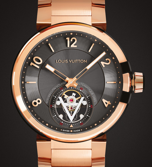 Часы Tambour eVolution Tourbillon Volant от Louis Vuitton