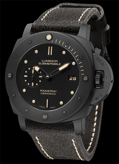 Luminor Submersible 1950 3 Days automatic ceramica - 47 mm от Officine