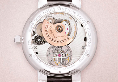Часы Tambour Monogram Tourbillon от Louis Vuitton