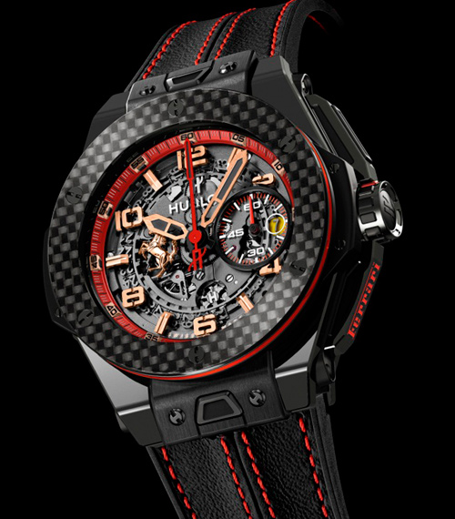 Часы Big Bang Ferrari Russie от Hublot