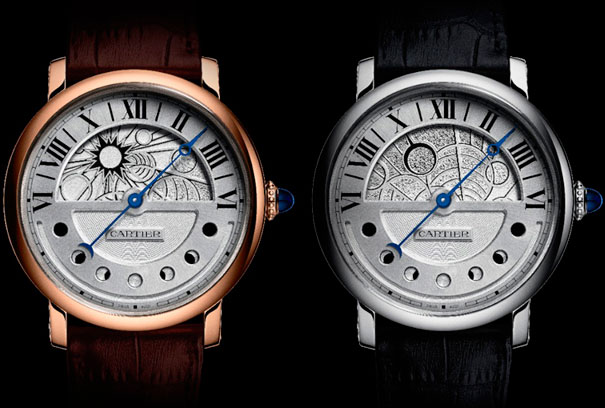 Часы Rotonde de Cartier Day and Night от Cartier