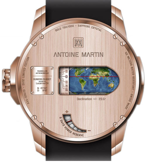 Часы Tourbillon Astronomique от Antoine Martin