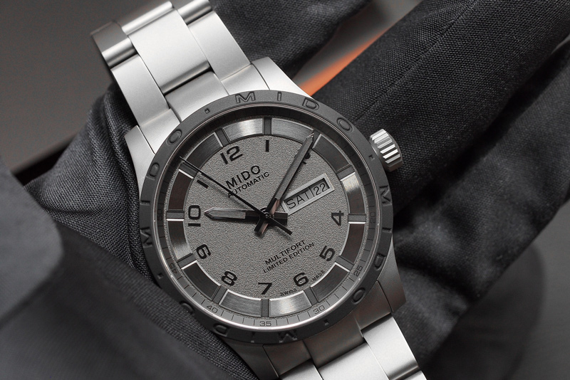 Часы Multifort Automatic Titanium (Ref. M0184304406200) от Mido