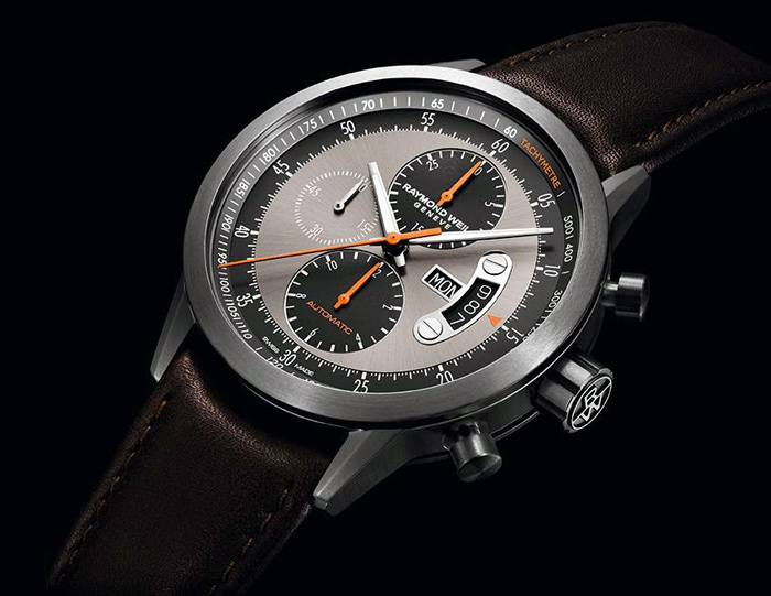 Часы Freelancer Chronograph Titanium от Raymond Weil