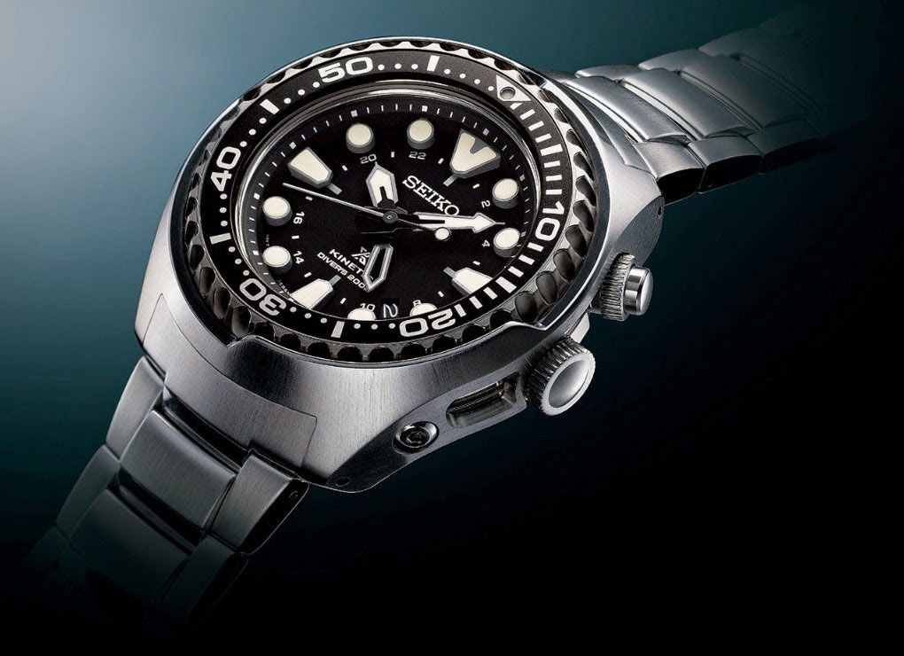 Часы Prospex Kinetic GMT DIVER от Seiko