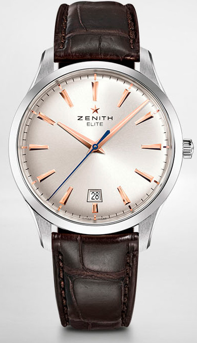 Модель Captain Elite Central Second (Ref. 03.2020.670/01.C498) от Zenith