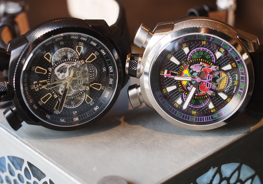 Часы BOLT-68 Chronograph Limited Edition «Skull» от Bomberg