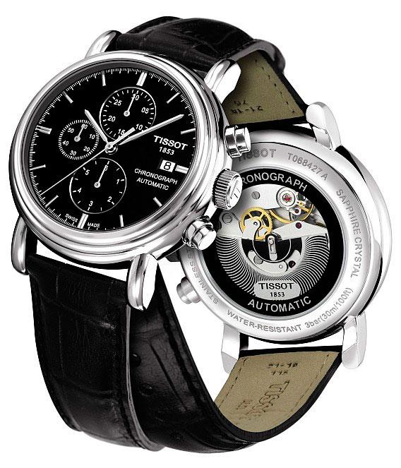 Часы Carson Chronograph от Tissot