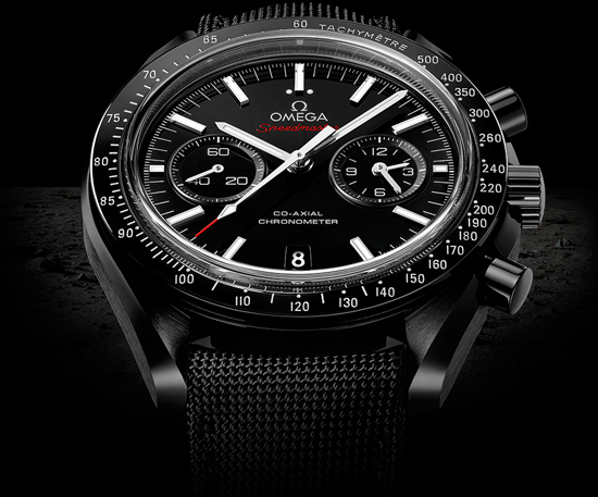 Часы Speedmaster «Dark side of the moon» от Omega