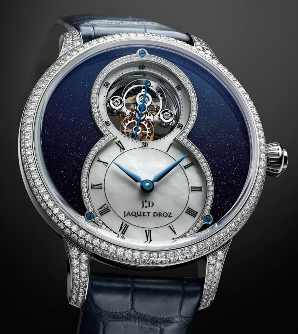 Часы Grande Seconde Tourbillon Aventurine от Jaquet Droz