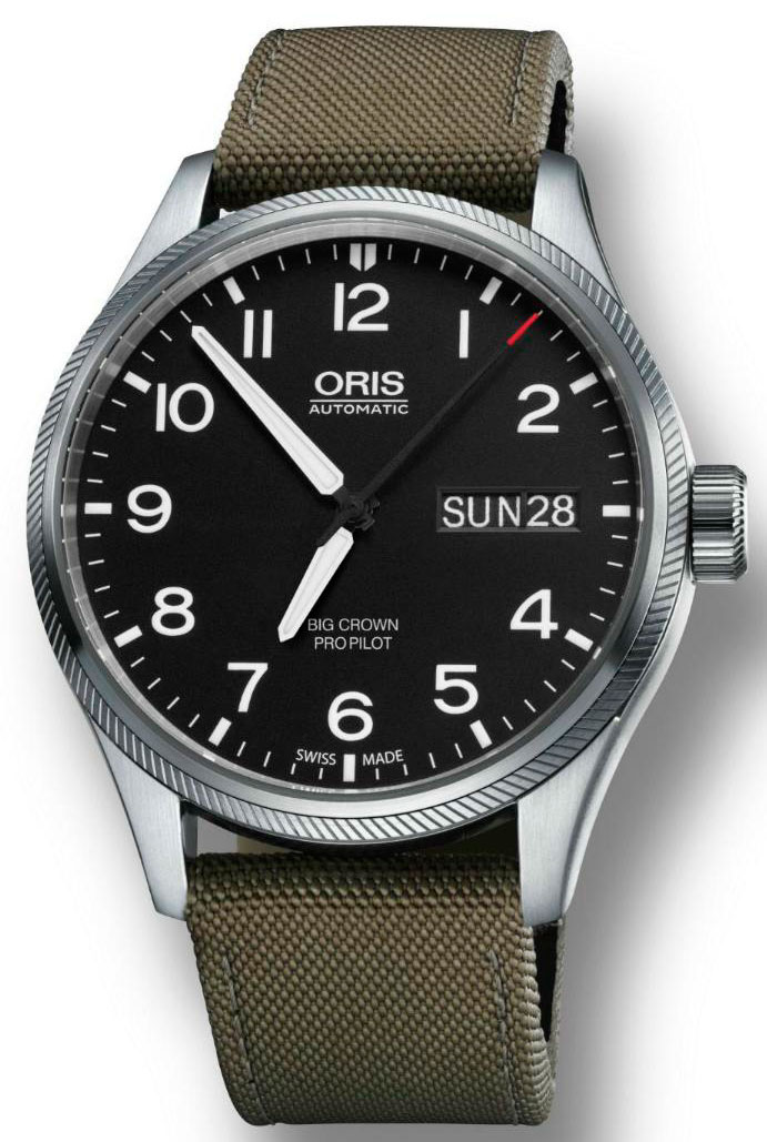 Часы  Big Crown ProPilot Day Date от Oris
