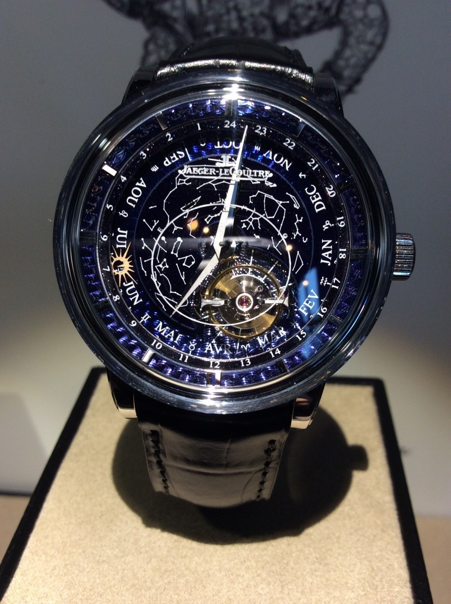 Часы Master Grande Tradition Tourbillon Céleste от Jaeger-LeCoultre