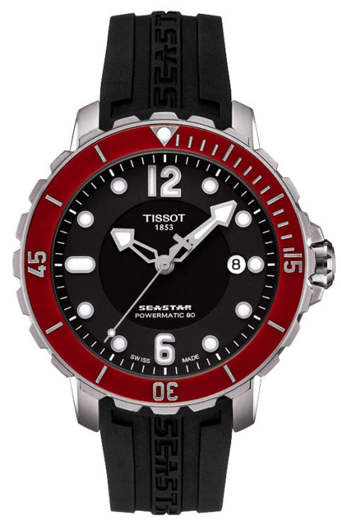 Часы Seastar 1000 Powermatic Diver от Tissot
