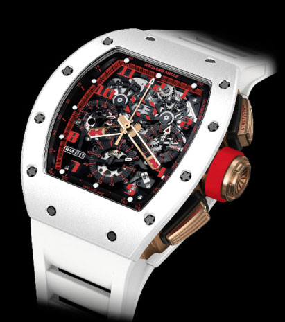 Часы RM 011 Automatic Flyback Chronograph «White Demon» от Richard Mille