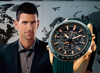 Astron GPS Solar Novak Djokovic Limited Edition от Seiko в честь Новака Джоковича