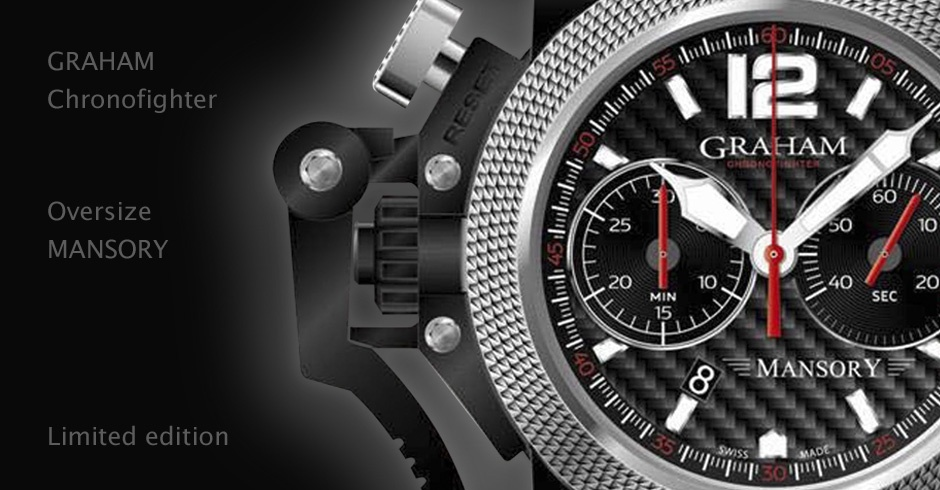 Часы Chronofighter Oversize for Mansory от Graham