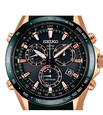 Часы Astron GPS Solar Novak Djokovic Limited Edition от Seiko
