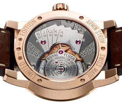 Часы Tourbillon Royal Flush от Armin Strom