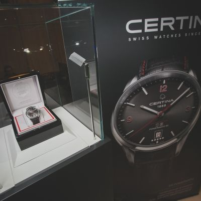 Часы Certina DS Limited Edition Ole Einar Bjørndalen представил спортсмен Оле Эйнар Бьерндален
