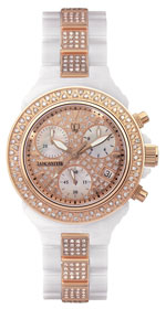 Ceramik Chrono De Luxe Rose Gold
