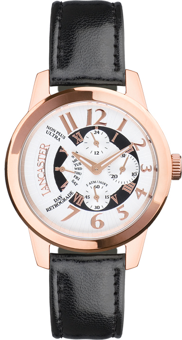 Classic Retrograde Rose Gold