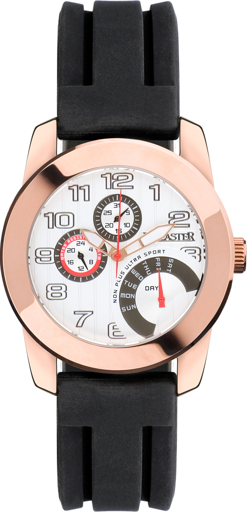 Sport Retrograde Rose Gold