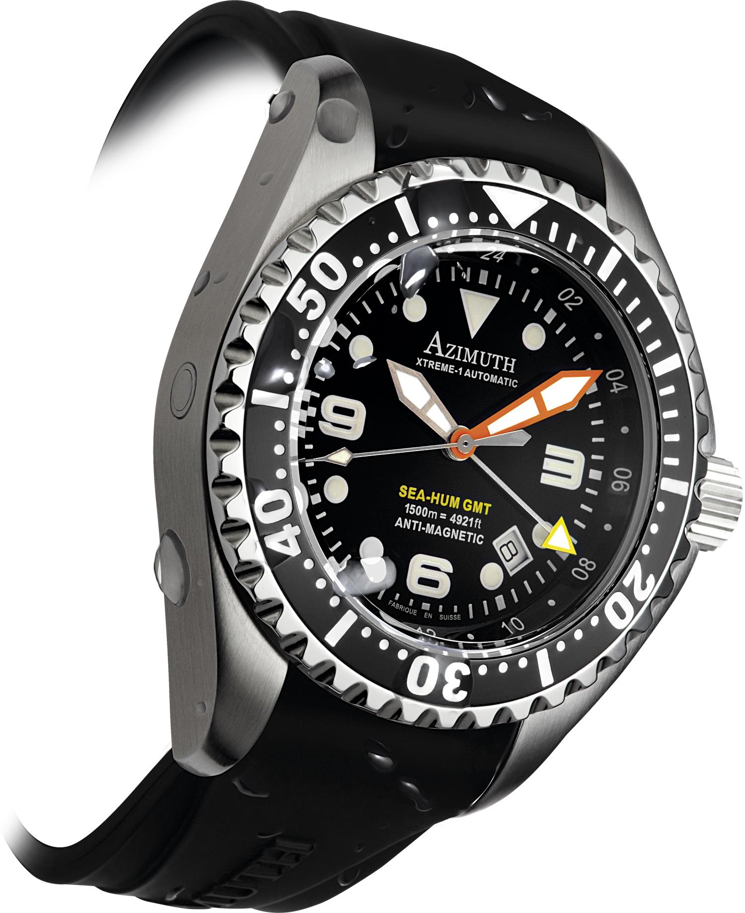 Sea-Hum 3TZ (Black dial)