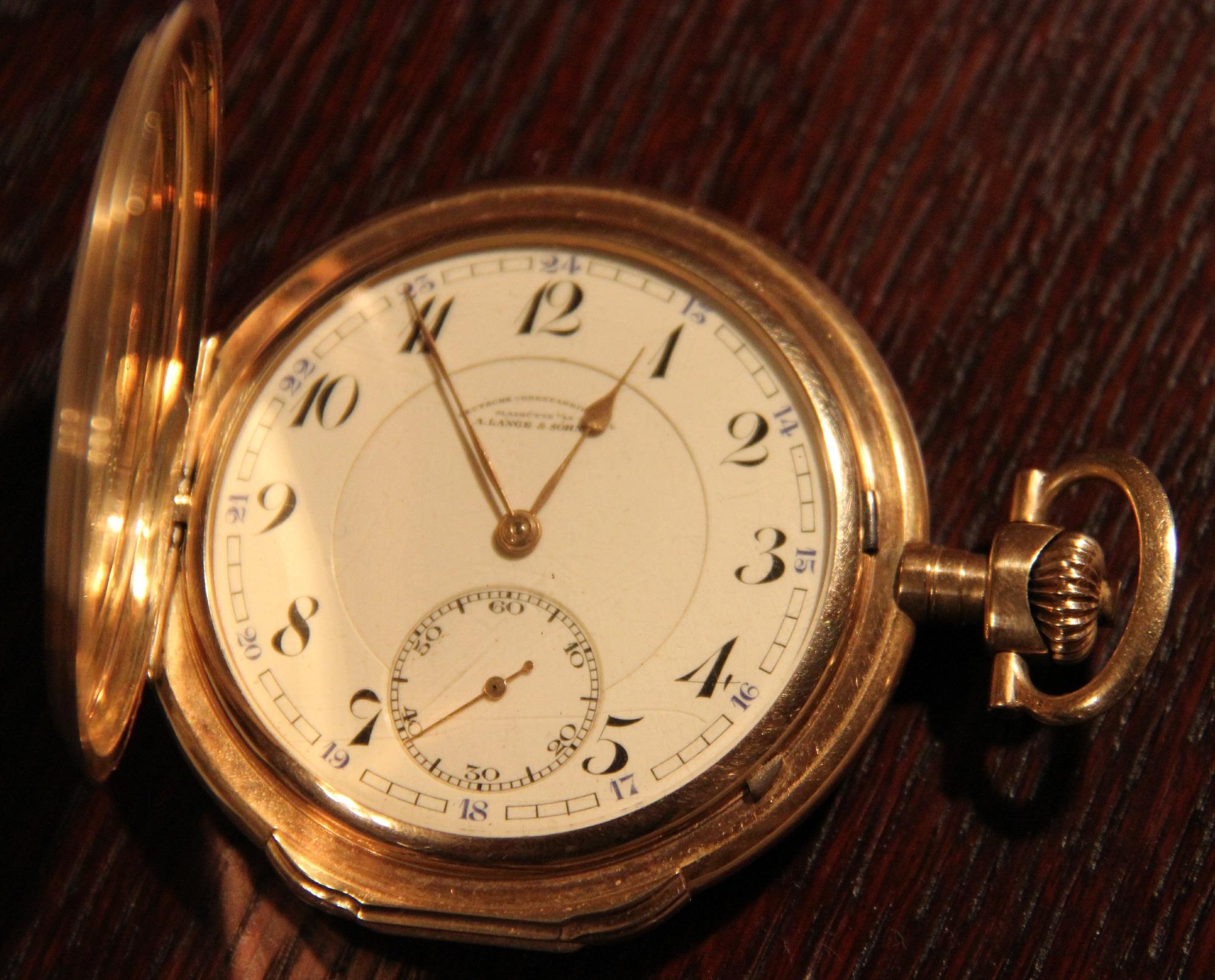 часы A. Lange & Sohne A. Lange & Sohne