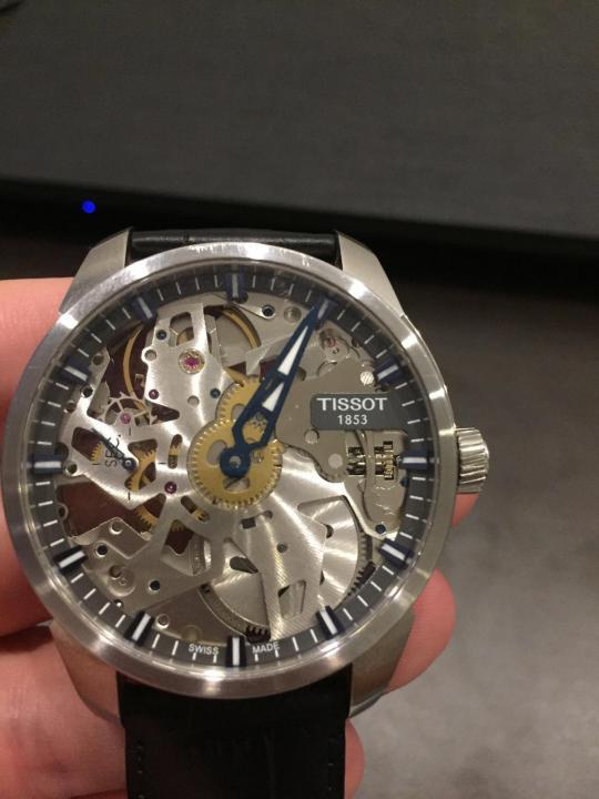 часы Tissot T-Complication Squelette