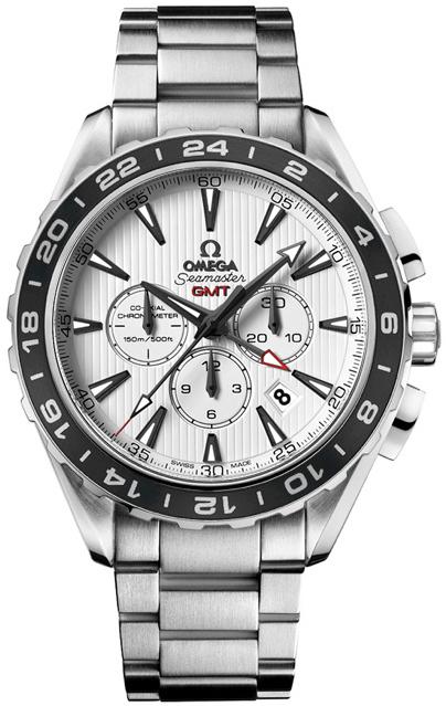 часы Omega AQUA TERRA CHRONOGRAPH GMT