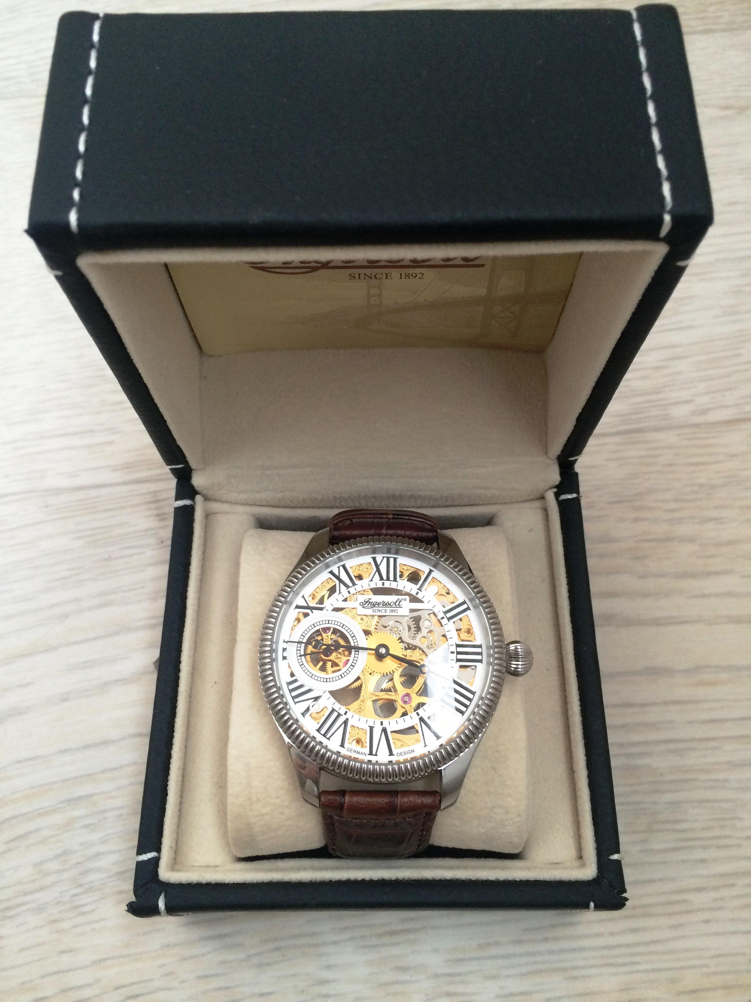 часы Ingersoll N 7904 WHG