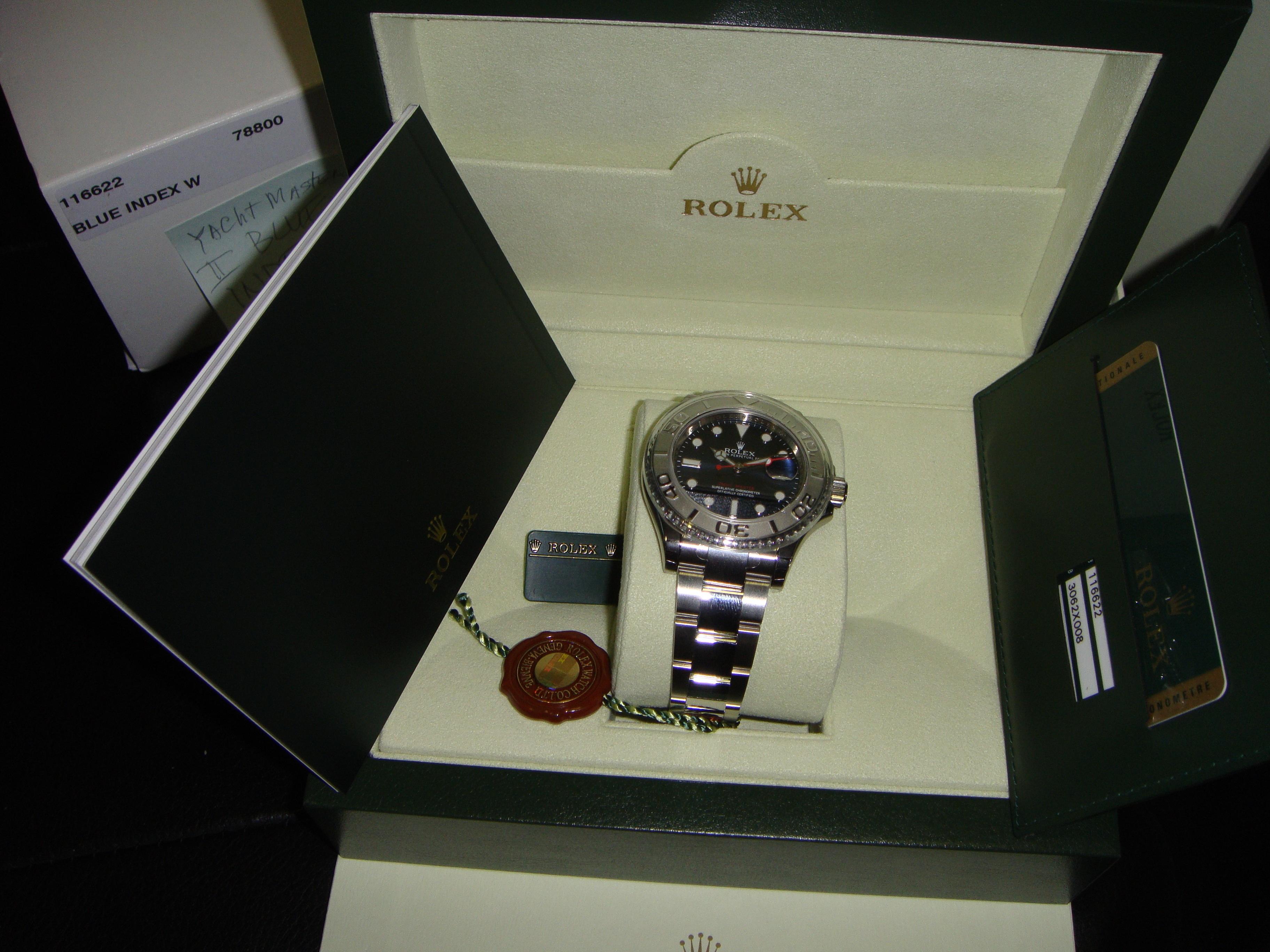 часы Rolex Yacht-Master