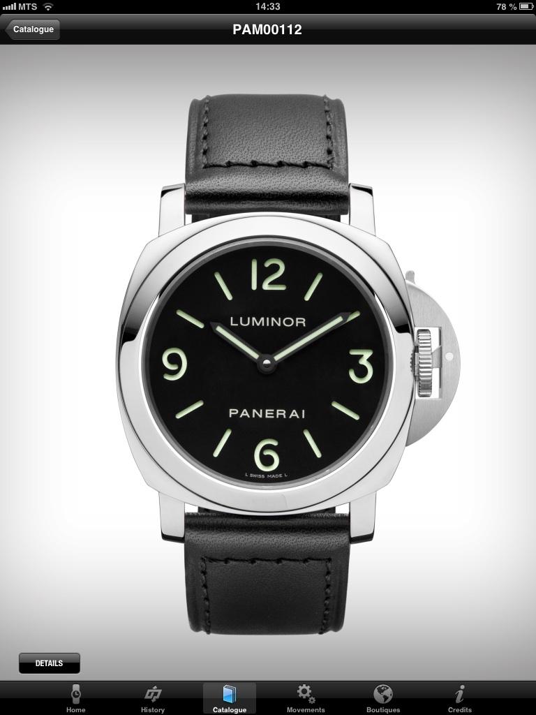 часы Panerai Base