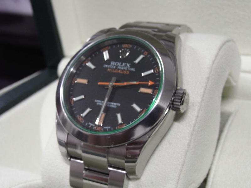 часы Rolex Milgauss 116400GV