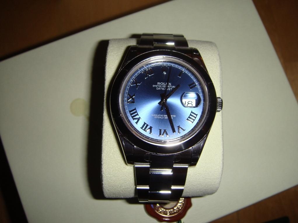 часы Rolex 116300 Blue dial