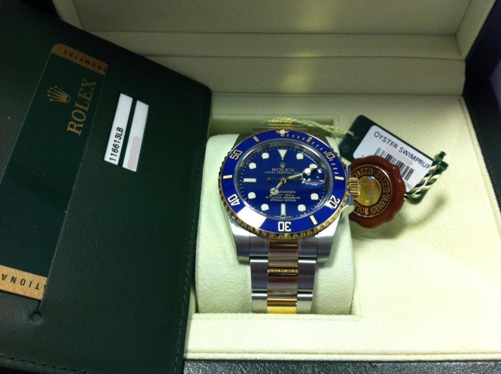 часы Rolex Submariner 116613LB