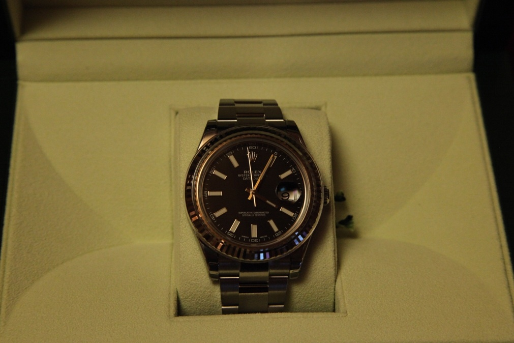 ���� Rolex Datejust 116334 Black dial