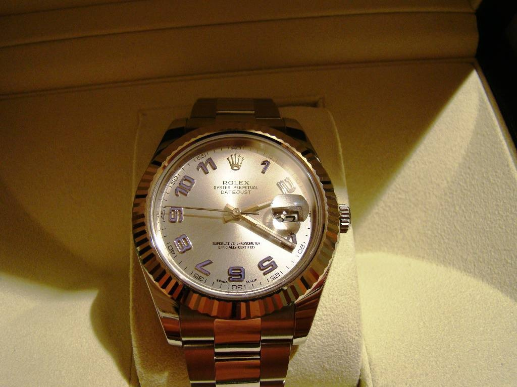 часы Rolex DateJust 116334 Rodium dial