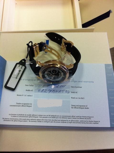 часы Breguet 5857