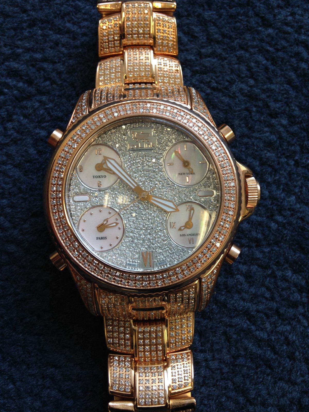 часы IceLink Ice Link Marco Polo из золота, с бриллиантами