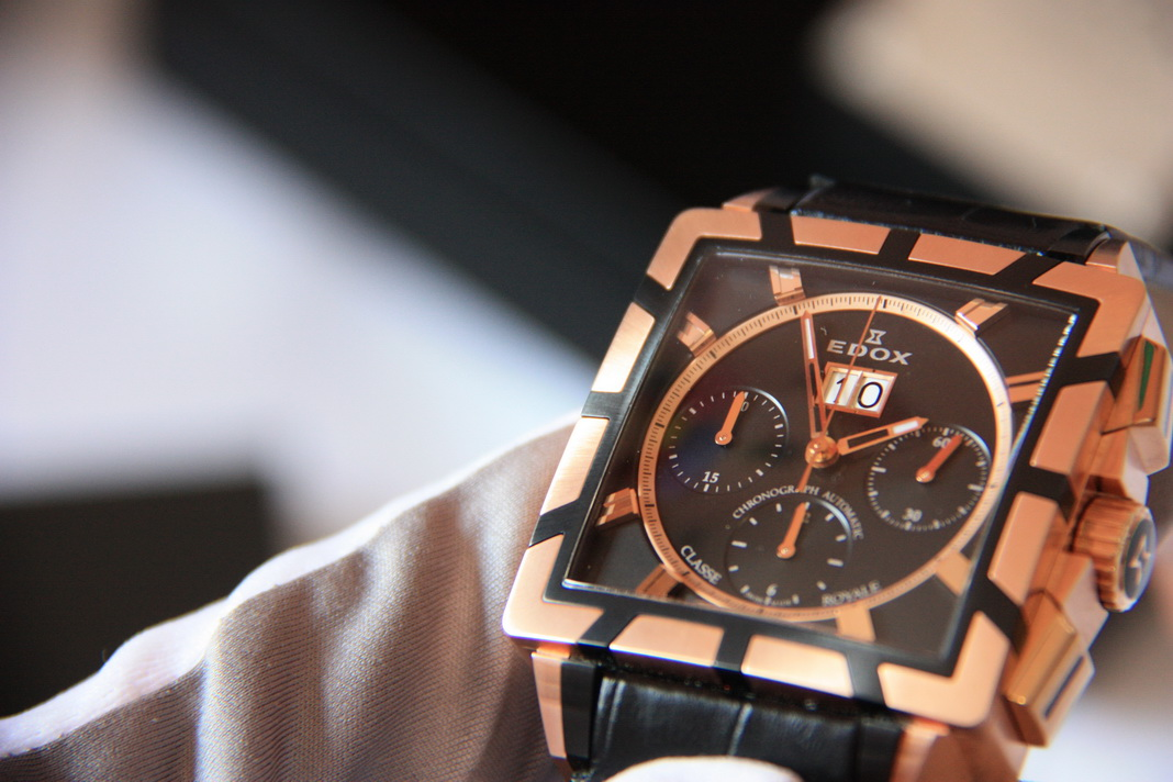 часы Edox Classe Royale Chronograph Automatic