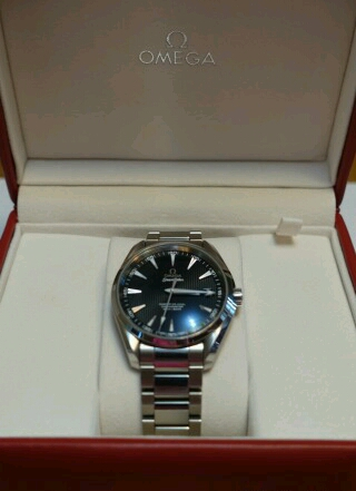 часы Omega Aqua Terra 150 M Omega Master Co-Axial 41,5 мм.