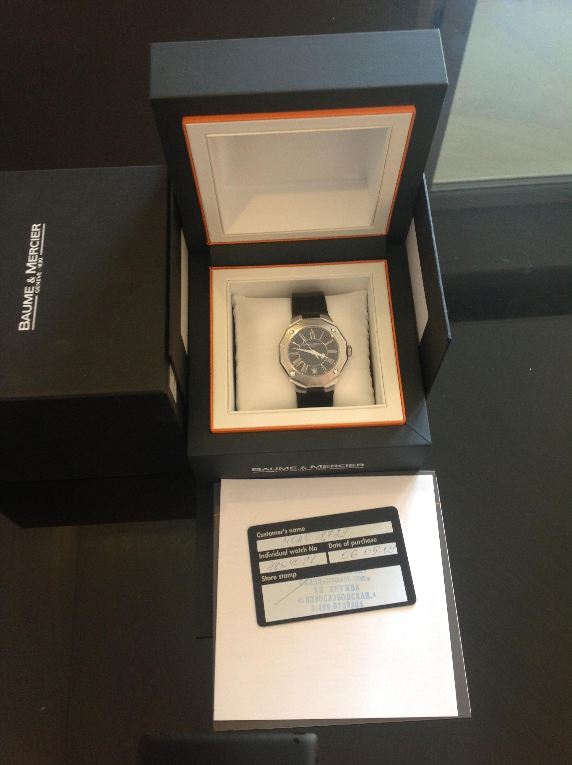 часы Baume & Mercier Женские часы с бриллиантами