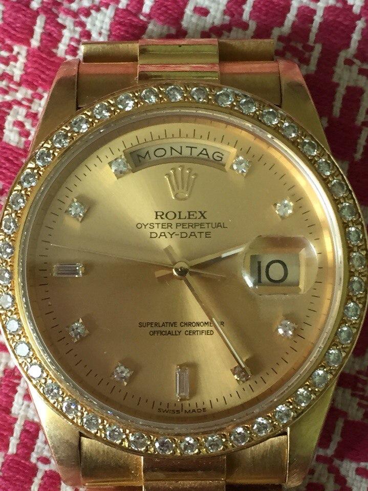 Rolex - оригинальные швейцарские часы купить в интернет