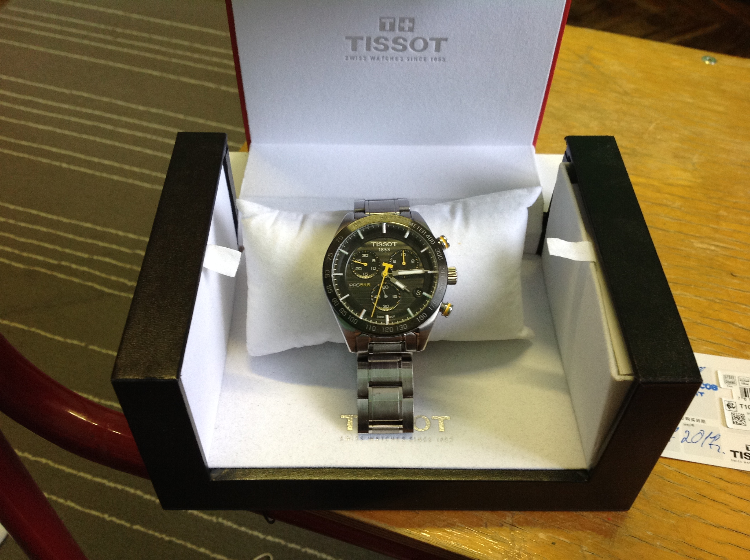 часы Tissot T-Sport PRS 516 Quartz Chronograph