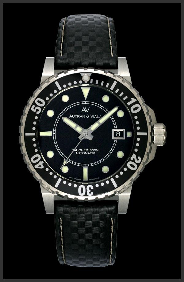 часы Autran & Viala Autran & Viala Nordsee Black Lethe