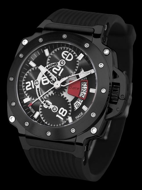 часы Edmond Pole Guardian collection Black