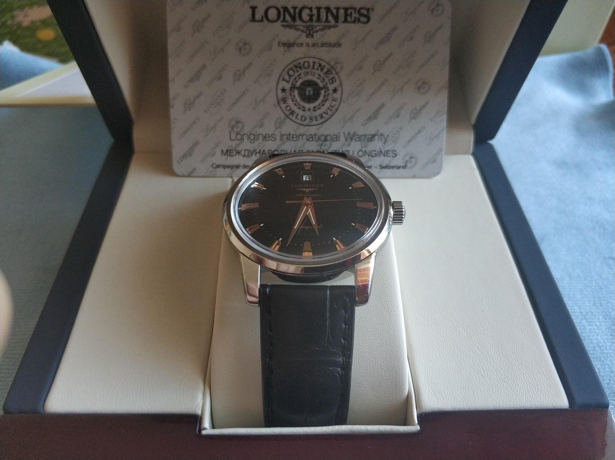 часы Longines Longines Haritage  - L1.645.4.52.9