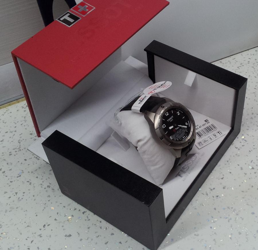 часы Tissot TISSOT T-TOUCH II TITANIUM GENT