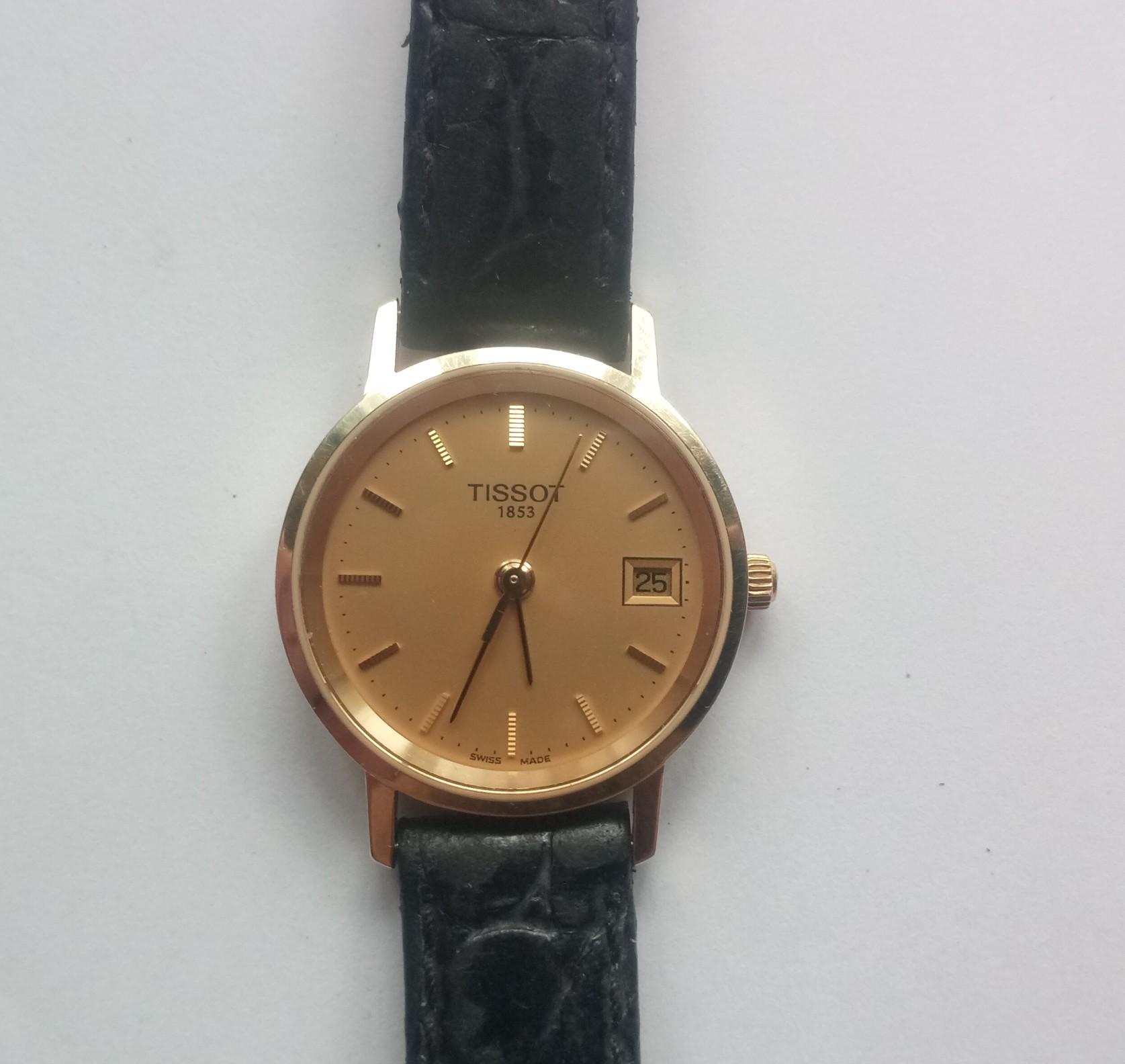 часы Tissot TISSOT GOLDRUN LADY SAPPHIRE